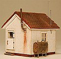 West End Shack Kit -- N-Scale -- #901