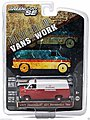 1977 Chevy G20 Van City Fire -- Diecast Model Truck -- 1/64 Scale -- #29781