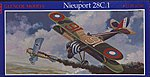 Nieuport 28C1 BiPlane -- Plastic Model Airplane Kit -- 1/48 Scale -- #05114