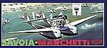 Savoia Marchetti 55X Dbl-Hulled Italian Flying Boat -- Plastic Model Airplane Kit -- 1/96 -- #05503