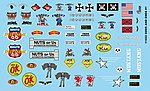 Odds & Ends Logos -- Plastic Model Vehicle Decal -- 1/24 Scale -- #11022