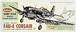 30-3/4'' Wingspan Vought F4U4 Corsair Kit