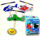 Rubber Powered Copter Toy - Helicopter (24)