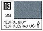 Solvent-Based Acrylic Semi-Gloss Neutral Gray 10ml Bottle (6/Bx)