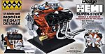 Dodge 426 Super Stock Hemi Engine (Painted Parts) -- Diecast Model Engine Kit -- 1/4 Scale -- #11057