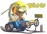 Weird-Oh's Figure Digger Way Out Dragster -- Plastic Model Figure Kit -- #16001