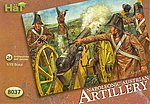 Austrian Artillery -- Plastic Model Military Figure Set -- 1/72 Scale -- #8037