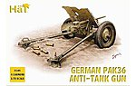 WWII Germans -- Plastic Model Military Figure Set -- 1/72 Scale -- #8149