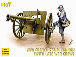 Late French Artillery WWI -- Plastic Model Weapon Kit -- 1/72 Scale -- #8161