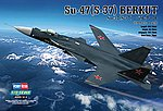 SU-47 (S-37) Berkut -- Plastic Model Airplane Kit -- 1/72 Scale -- #80211