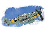 Easy Build BF109G-2 -- Plastic Model Airplane Kit -- 1/72 Scale -- #80223