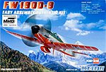 FW190D-9 -- Plastic Model Aircraft Kit -- 1/72 Scale -- #80228