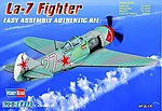 Russian La-7 Fighter -- Plastic Model Aircraft Kit -- 1/72 Scale -- #80236