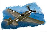 P-40N Warhawk -- Plastic Model Aircraft Kit -- 1/72 Scale -- #80252