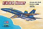 F/A-18A Hornet -- Plastic Model Airplane Kit -- 1/72 Scale -- #80268