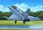 Rafale B French Fighter -- Plastic Model Airplane Kit -- 1/48 Scale -- #80317