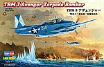 TBM-3 Avenger Torpedo Bomber -- Plastic Model Airplane Kit -- 1/48 Scale -- #80325