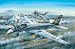 A-6A Intruder -- Plastic Model Airplane Kit -- 1/48 Scale -- #81708