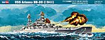 USS Arizona BB-39 -- Plastic Model Military Ship Kit -- 1/350 Scale -- #86501