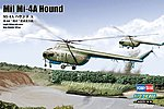 MIL MI-4A Hound A -- Plastic Model Helicopter Kit -- 1/72 Scale -- #87226