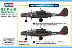 P-61B Black Widow -- Plastic Model Airplane Kit -- 1/72 Scale -- #87262