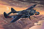 P-61B Black Widow Night Fighter -- Plastic Model Airplane Kit -- 1/32 Scale -- #hy83209