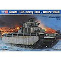 Soviet T-35 Heavy Tank Pre 1938 -- Plastic Model Military Vehicle -- 1/35 Scale -- #hy83842
