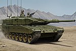 Leopard 2A4M Canada -- Plastic Model Military Vehicle -- 1/35 Scale -- #hy83867