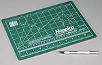 Builder's Cutting Mat 9x12  w/Hobby Knife