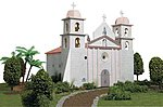 California Mission Santa Barbara -- Mission Project Building Kit -- #y9039