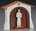 Statue Alcove -- Mission Project Accessory -- #y9885