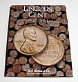 Lincoln Cent 1941-1974 Coin Folder -- Coin Collecting Book and Supply -- #2673