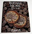Buffalo Nickel 1913-1938 Coin Folder -- Coin Collecting Book and Supply -- #2678