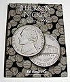 Jefferson Nickel 1996-2002 Coin Folder -- Coin Collecting Book and Supply -- #2681