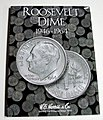 Roosevelt Dime 1946-1964 Coin Folder -- Coin Collecting Book and Supply -- #2684