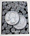 Washington Quarter 1988-1998 Coin Folder -- Coin Collecting Book and Supply -- #2691