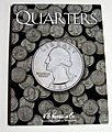 Quarters Plain Coin Folder -- Coin Collecting Book and Supply -- #2692