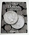 Peace Type Dollar 1921-1935 Coin Folder -- Coin Collecting Book and Supply -- #2709