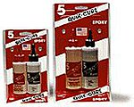 QUICK CURE 5 Minute Epoxy (4 1/2oz) -- Hobby Epoxy -- #201