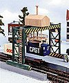 Container Terminal Kit -- HO Scale Model Railroad Building -- #1716