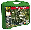 GMC CCKW 353 Truck & US Infantry -- Plastic Model Military Vehicle Kit -- 1/72 Scale -- #60996