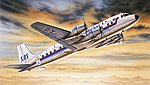 DC6B Super Cloudmaster Aircraft -- Plastic Model Airplane Kit -- 1/72 Scale -- #80315