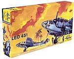 Leo 451 WWII French Bomber -- Plastic Model Airplane Kit -- 1/72 Scale -- #80389