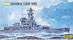 Admiral Graf Spee German Battleship -- Plastic Model Military Ship Kit -- 1/400 Scale -- #81046