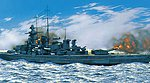 Gneisenau German Battleship -- Plastic Model Military Ship Kit -- 1/400 Scale -- #81080