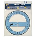 6'' 360-Degree Professional Plastic Protractor