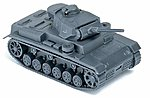 Former German Army WWII Medium Tank Panzer III -- HO Scale Model Railroad Vehicle -- #740401