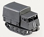 German Army WWII Magirus Tracked Personnel Carrier -- HO Scale Model Railroad Vehicle -- #740791