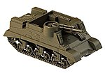 M7B1 Priest Armored Vehicle WWII US & Allies -- HO Scale Model Railroad Vehicle -- #740838