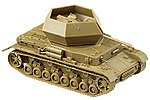 German Army WWII Armored Vehicles - FlakPz IV Ostwind -- HO Scale Model Railroad Vehicle -- #740999
